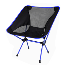 Folding Chair Fishing-Tools Seat Ultralight Travel Picnic Hiking Outdoor High-Load Portable