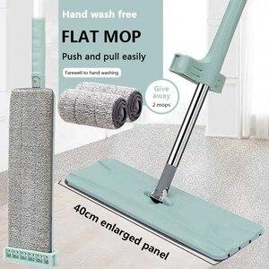 Flat Mop Free Hand Washing Sta