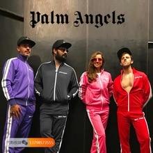 Palm Angels Jackets Men Women Autumn Winter Windbreaker Coats Baseball Bomber Camouflage Jeans Hombre Army Jacket