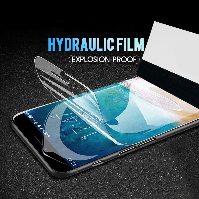 Hydrogel Film Cover For <font><b>iPhone</b></font> X XR XS MAX 8 7 6 <font><b>6s</b></font> Plus Screenprotector Protection <font><b>Ecran</b></font> Soft Hidrojel filmi Case Etui Coque image