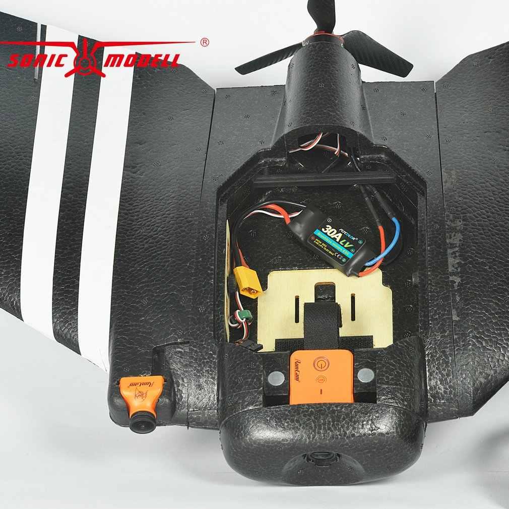 ZOHD SonicModell AR Wing 900 мм EPP размах крыльев RC FPV игрушки самолеты с фиксированным крылом планер Дрон самолет с 80 + км/ч обновленная версия комплект