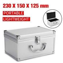 Boîte à outils d'instrument de sécurité protection antichoc boîte à outils matériel mallette à outils résistant aux chocs mallette de rangement valise avec éponge
