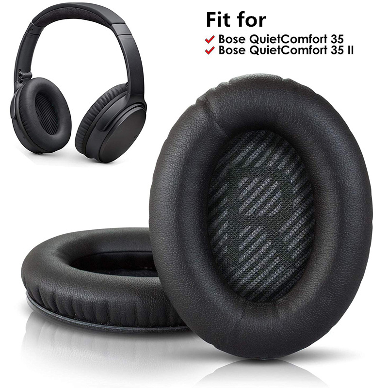 Replacement Ear Pads For BOSE QC35 For QuietComfort 35 & 35 Ii Headphones Memory Foam Ear Cushions High Quality