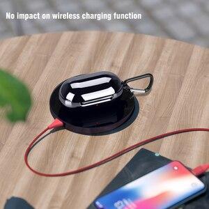 Чехол для Samsung Galaxy Buds + Plus, Роскошный чехол 2020, защитный чехол из ТПУ с гальваническим покрытием для наушников, чехол для Galaxy Buds 2019