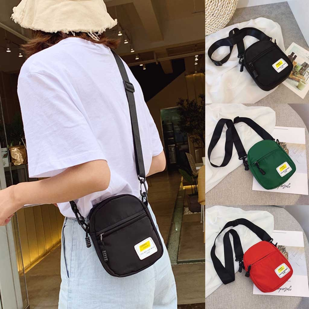 XIN Letters Canvas Women/'s Shoulder Messenger Small Bags Cross Body handbag