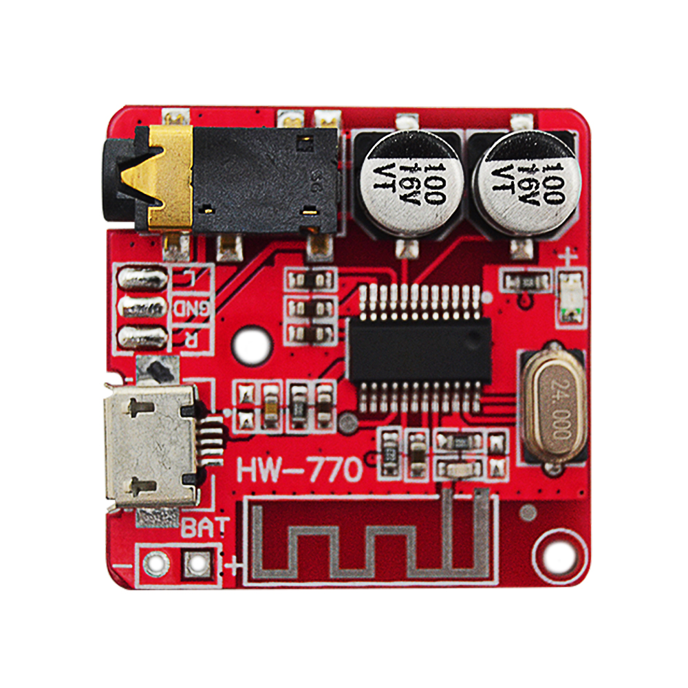 3.7-<font><b>5V</b></font> MP3 <font><b>Bluetooth</b></font> Lossless Decoder Board Car Stero Speaker <font><b>Amplifier</b></font> Module Diy Audio Receiver Module 4.1 image