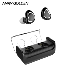 ANRY Wireless Earbuds Bluetooth 5.0 in-Ear Sweat-Proof Stereo Earphones with Portable Charging Case