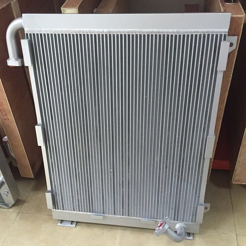 Refroidisseur dhuile moteur hydraulique en aluminium Holdwell pour pelle Komatsu PC200-6 avec 6D102