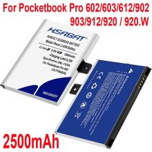 Hsabat 2500 mah CS-PTK602SL bateria para pocketbook pro 602/603/612/902/903/912/920(China)