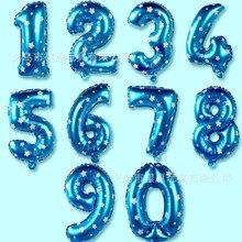 Shi jing шар 16-дюймовый шпилька с цифрами shi jing шары для свадьбы и дня рождения сцена декоративный 16-дюймовый шпилька с цифрами shi jing воздушный шар