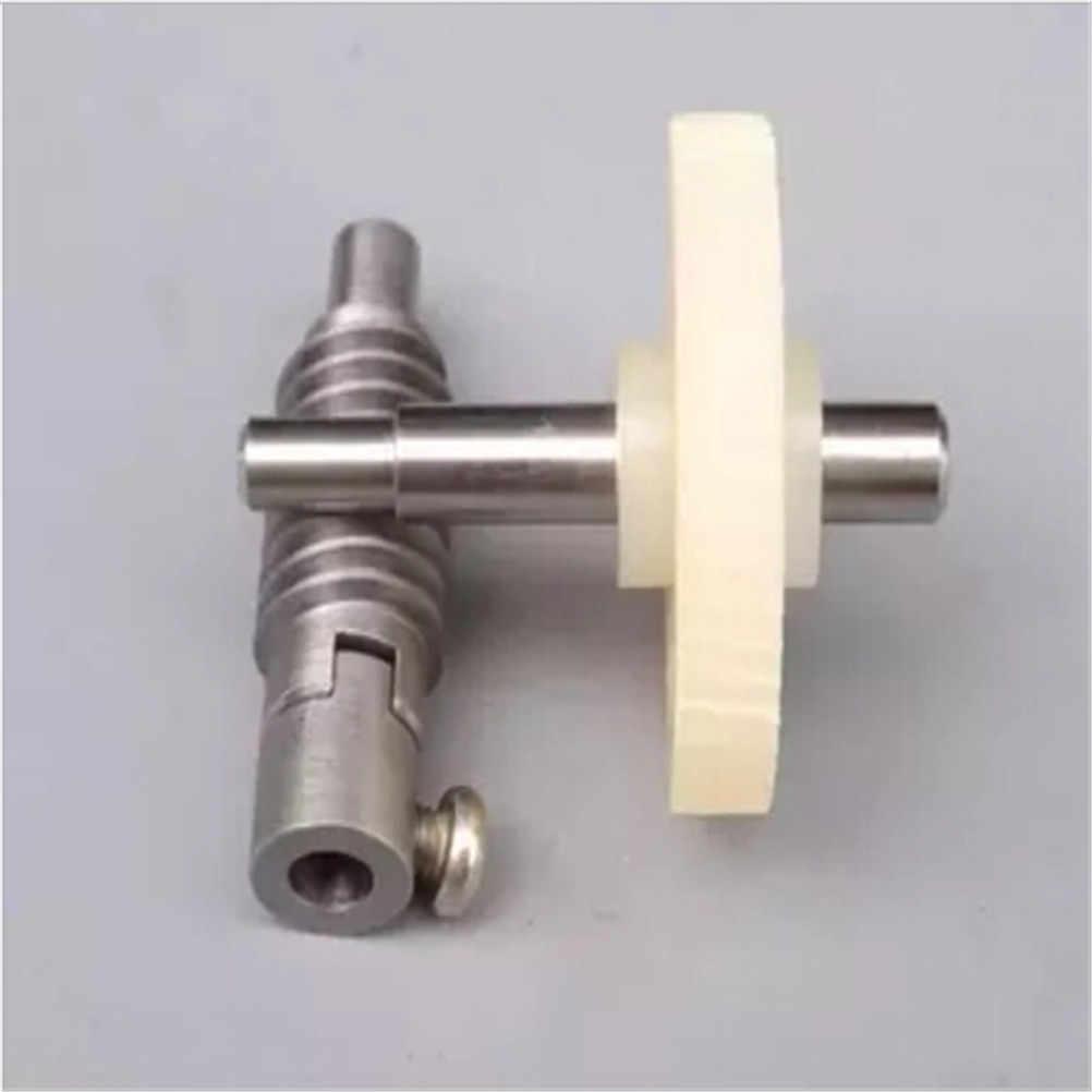 1 Set Metalen Wiel Snelheidsreductiemiddel Gearset Voor DIY Accessoire Plastic Worm Reduction Gear Set