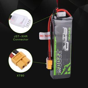 Image 3 - Batterie GENS ACE OVONIC, Lipo 3S 2200mAh 11.1V, 1 pièce, 50C avec connecteur XT60 Deans, pour voiture RC Drone, hélicoptère, bateau