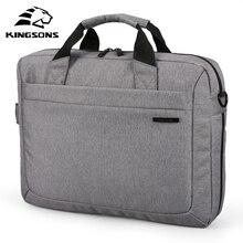 Kingsonsブランド防水12 、13 、14 、15 インチノートブックコンピュータのラップトップバッグブリーフケースショルダーメッセンジャーバッグ