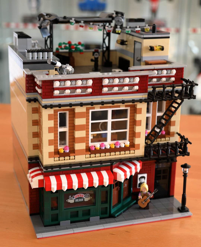 2020 NEW Classic TV The Big 21319 Bang Theory Friend Apartment City Street View Drama Friends Central Building Blocks Kids Toys