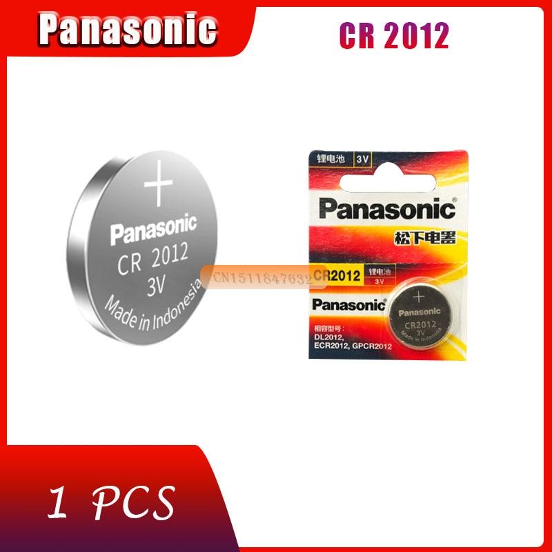 1 х Оригинальный Новый аккумулятор для PANASONIC cr2012 3 в, кнопочные элементы, монетные батареи для часов, компьютера cr 2012