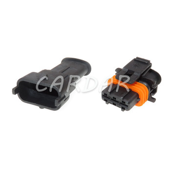 1 Set 3 Pin 1928404074 Seald Automotive Connector Car Fuel Pressure Plug Air Flow Sensor Socket For Bosch