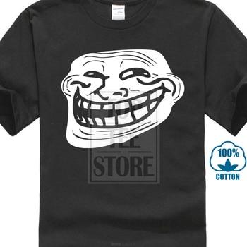 ¿Algún problema con la cara sonriente de Troll? Meme gracioso eslogan Rage Comics gráfico camiseta para hombre 022352