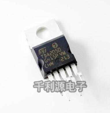 10pcs/lot   TDA2050 TDA2050AV  TO220-5  Audio Power Amplifier