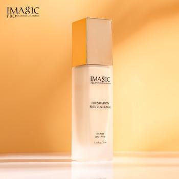 IMAGIC Face Foundation Keep makeup and beautiful skin liquid foundation Base Makeup Matte Oil Control Concealer Full Coverage недорого