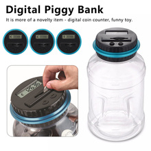 USD EURO GBP Money Coin Money Saving Box Jar Piggy Bank Counter Coin Electronic Digital LCD Counting Coins Storage Box special offer dh48ss electronic counting relays counter preset