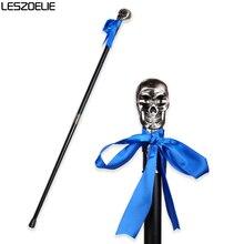 Skull-Head Steampun Walking Canes For Men Fashion Decorative Walking Stick Gentleman Luxury Elegant Hand Cane Knob Walking Stick