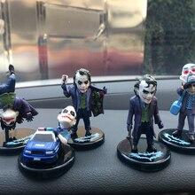 Украшение для автомобиля супергерой Бэтмен Джокер, модель Джокера, украшение для интерьера автомобиля, аксессуары для автомобиля