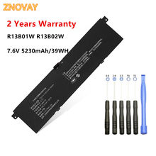 R13b01w bateria do portátil para xiaomi mi ar 13.3