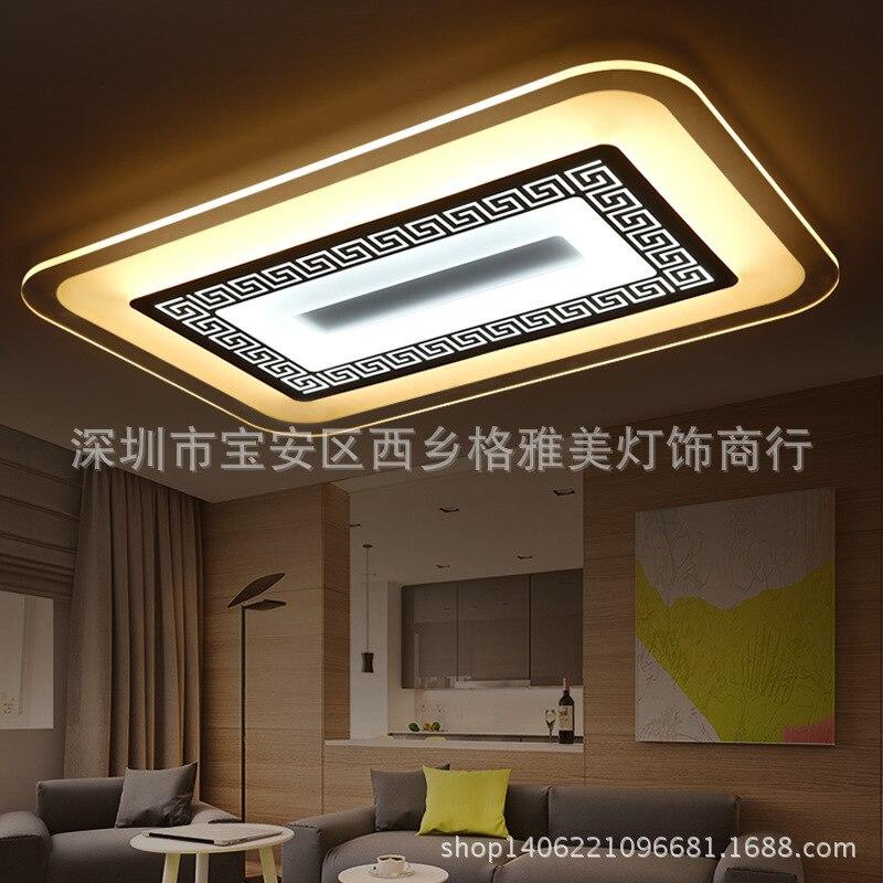 Японский Светодиодный потолочный светильник, светильник лампа для гостиной, спальни, вентиляторы