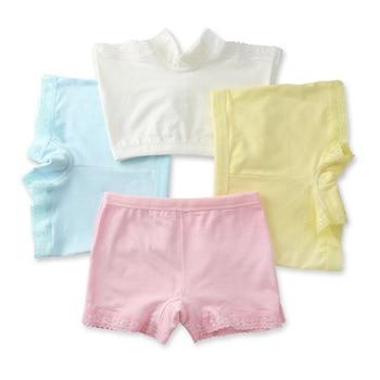 Mädchen Höschen 4 stück Baumwolle Boxer Shorts Kinder Kleidung spitze Unterwäsche 1