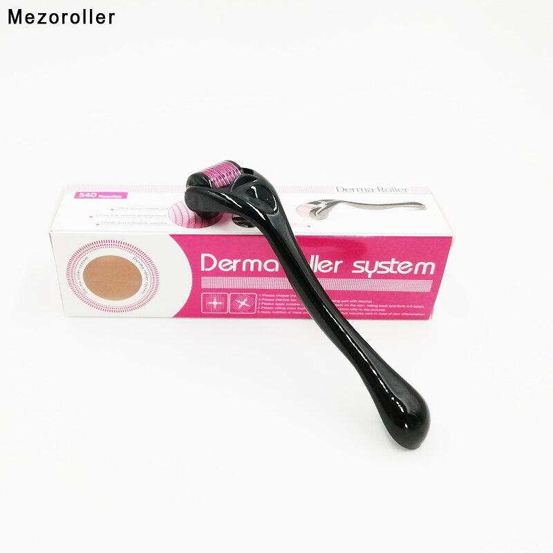 mezoroller-derma-roller-540-aiguilles-micro-aiguilletage-pour-soins-de-la-peau-traitement-du-corps-meso-visage-dermo-mikronadel-micro-agulha-facial
