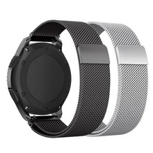 22mm 20mm pour Samsung Gear sport S2 S3 Frontier bande classique huami amazfit gtr bip sangle huawei GT 2 galaxy montre active 42 46mm(China)