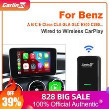 Carlinkit 3.0 adattatore CarPlay Wireless per Benz A B C E S classe ML GLA GLC GLK CLA GLE CLS AMG accessori auto Dongle Bluetooth