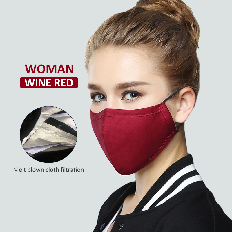 9Color Unisex Cycling Face Mask Anti-Dust Pollution Outdoor Reusable Washable Earloop Mouth Mask Breathableg Mask FFP1 FFP2 FFP3