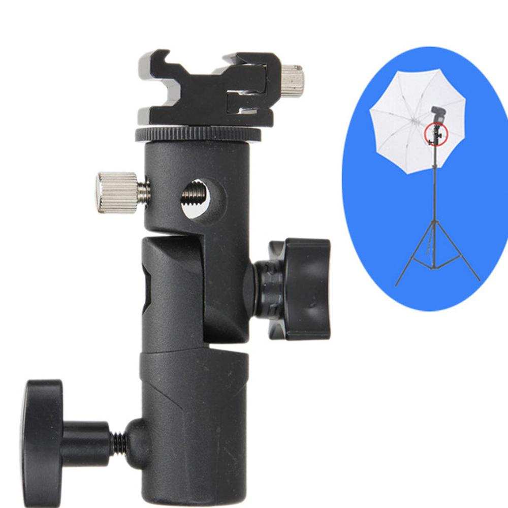 Flash Bracket Metal Universal Aluminium Alloy Bracket E-type Lamp Holder Bracket Can Be Connected To A Tripod