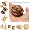 Nette Natürliche Holz Kaninchen Spielzeug Kiefer Dumbells Einrad Glocke Roller Kauen Spielzeug für Guinea Schweine Ratte Kleine Pet Molaren Liefert