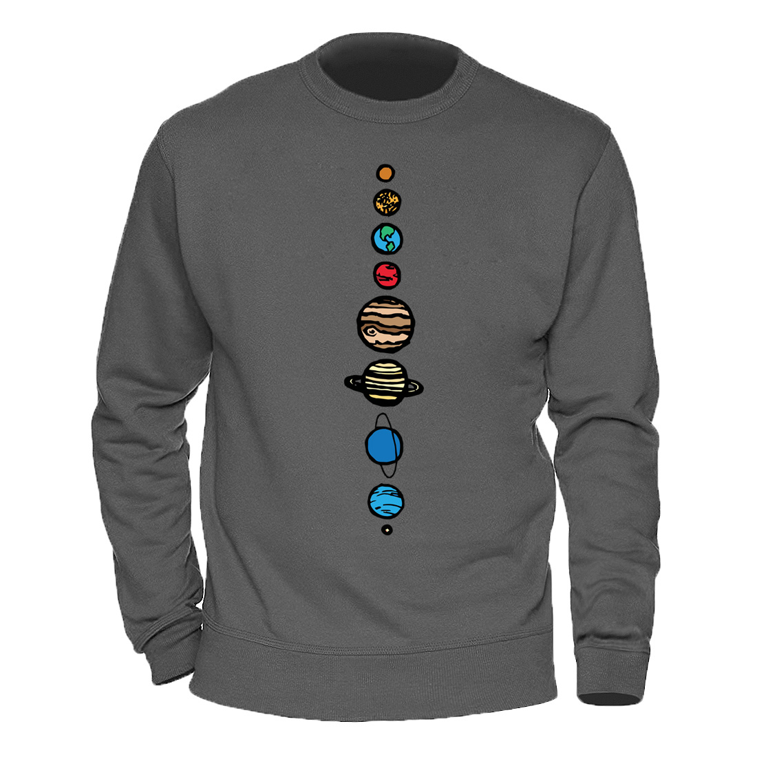 Male Clothing Solar System Planets Colour Hoody 2020 Keep Warm Winter Spring Sweatshirts Mens Casual Streetwear Harajuku Hoodies 1