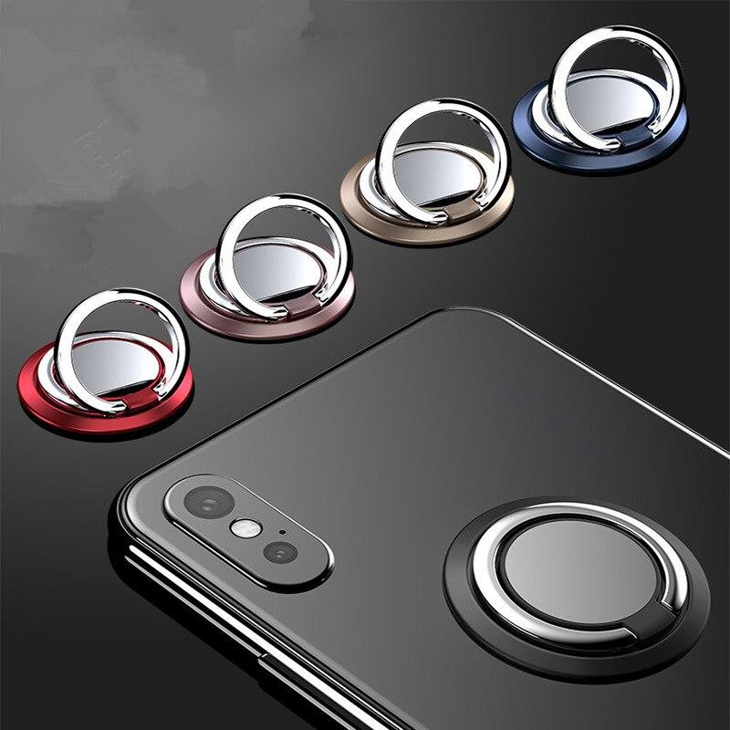 Finger Phone Ring Holder Mobile Phone Holder Stand Universal Magnetic Finger Ring Holder For Samsung Xiaomi IPhone XR X 8 7 6P