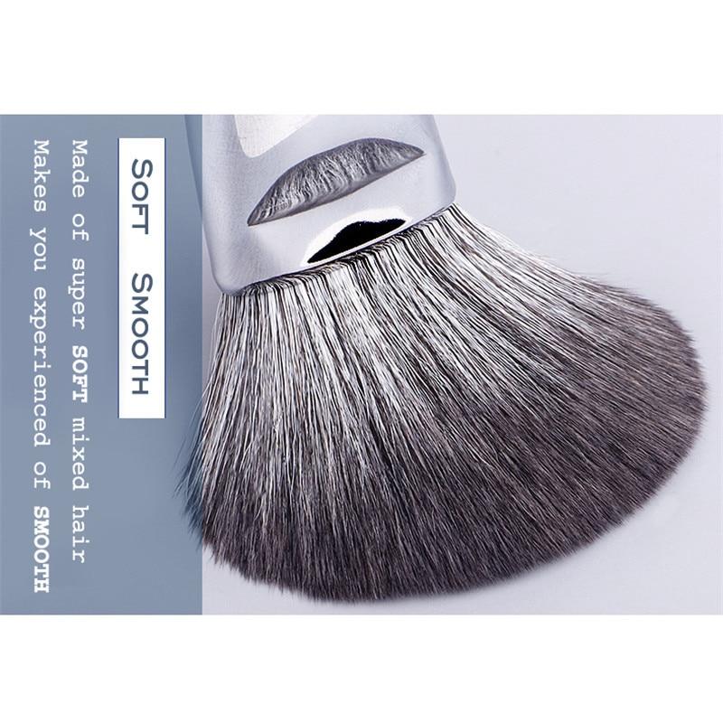 Набор кистей для макияжа YAVAY 32 шт., набор кистей для макияжа из мягкой козьей шерсти Taklon, набор кистей для профессионального макияжа - 3