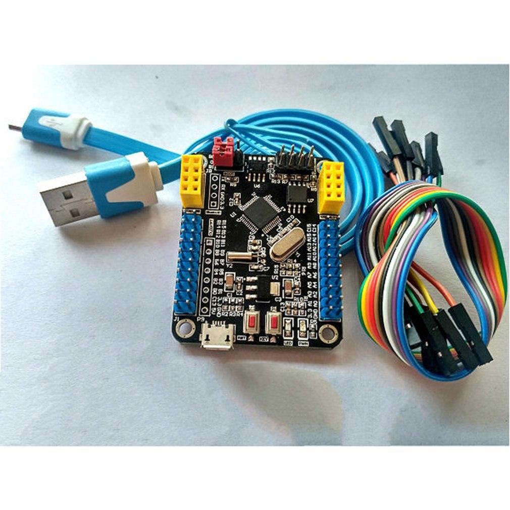Mini Size STM32F103C8T6 ARM System Development Board STM32 51 Core Board Module WIFI ESP8266 NRF24L01 Interface
