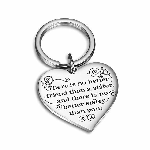 Fashion Keyring Drive Safe Name Stainless Steel Keychain Couples Key Rings Women Men Friend Family Key Chain Pendant Jewelry 3