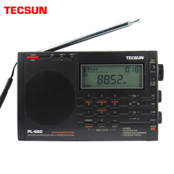 Tecsun PL-660 Airband Radio High Sensitivity Receiver FM/MW/SW/LW Digital Tuning Stereo with Loud Sound and Wide Receiving Range