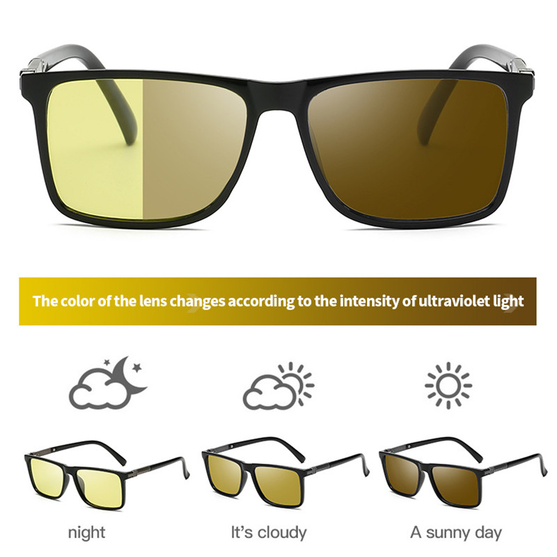 Vision Nocturna Women Men Night Vision Glasses Polarized Anti-Glare Lens Yellow Sunglasses Driving Night Vision Goggles For Car