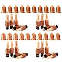 20PCS 220941 Plasma Tips 20PCS 220842 Plasma Electrode Fit for Hypertherm Powermax 65/85/105