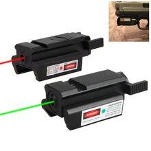 Зеленый/красный лазерный прицел для охоты область 20 мм Вивер