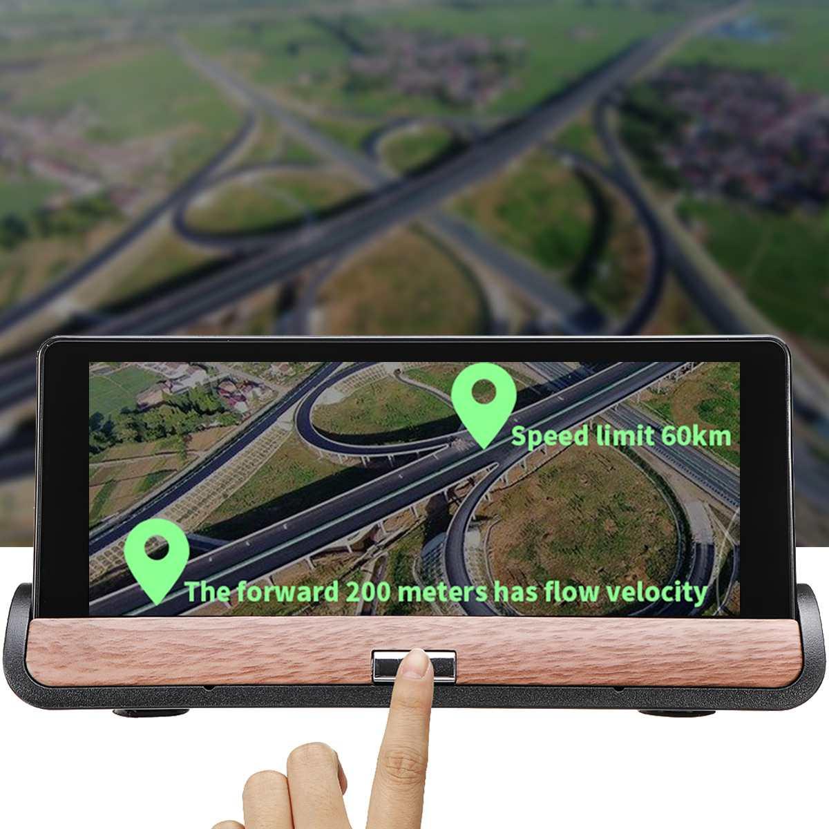 7 ''auto Gps Navigation Lkw Gps Navigator Touchscreen Set Nav bluetooth In-Dash Einheiten Navigation Dual Objektiv mit Karten Australien