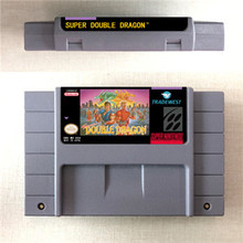 Super Double Dragon   Action Game Card US Version Englisch Sprache
