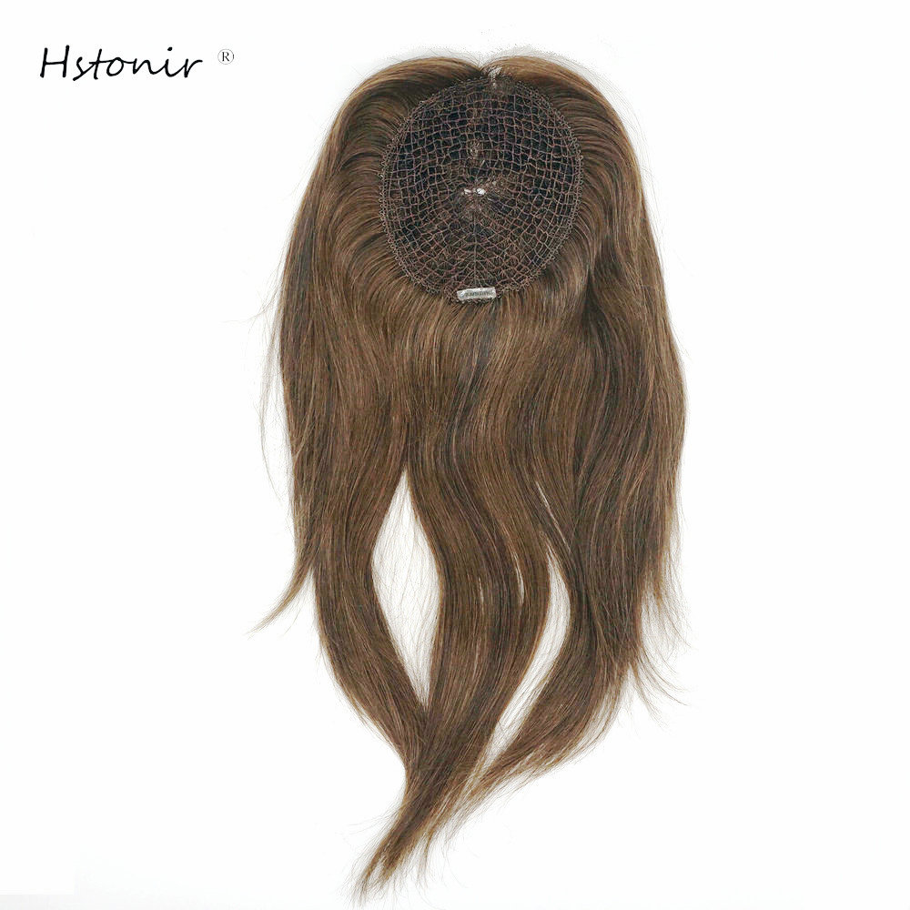 Hstonir European Remy Hair Women Fishnet Accessories 100 Human Real Hair Closure Hair Decoration Network Integration Net TP28