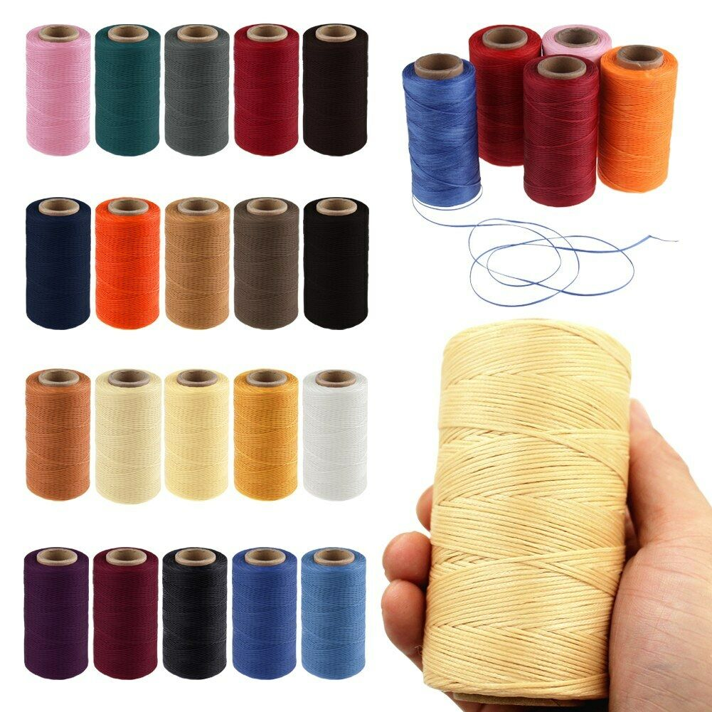 5pcs 65M 150D 1MM Durable Polyester Leather Sewing