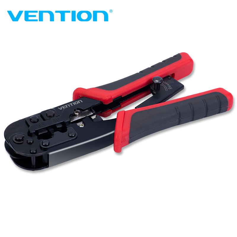 Vention RJ45 Crimping Tool Network Cable Crimper Cutting Tools Kits Crimping Stripper Punch Down RJ45 RJ12 RJ11 Ethernet Cable