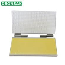 Máquina para hacer hojas de cera de abejas, aleación de aluminio, 42x22CM, tipo de cuaderno, lámina de cera de abejas, equipo de máquina de molde de fundición